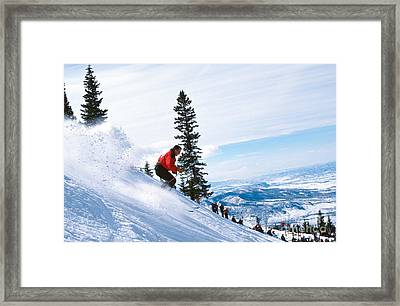 Chute One Framed Print