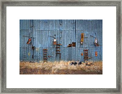 Chutes And Ladders Framed Print by Jon Burch Photography