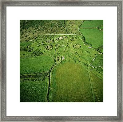 Chysauster Framed Print by Skyscan/science Photo Library