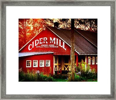 Cider Mill Framed Print