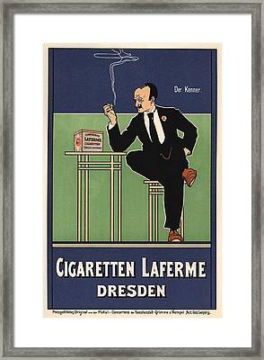 Cigaretten Laferme Dresden Framed Print by Gianfranco Weiss