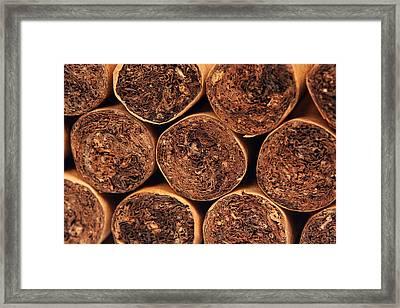 Cigars Framed Print by Rick Rhay
