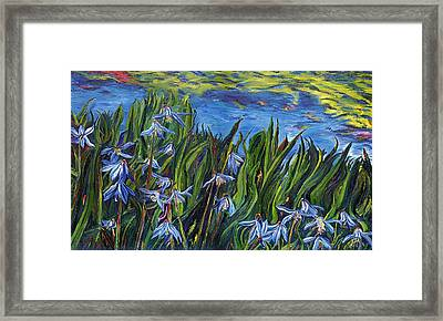 Cilia Flowers Framed Print by Gregory Allen Page
