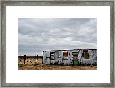 Cima Union Pacific Railroad Station Framed Print by Kyle Hanson