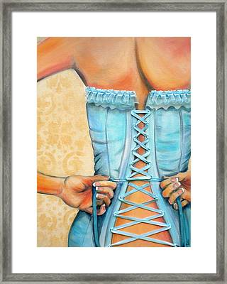 Cinched And Beautiful Framed Print