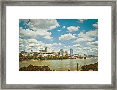 Cincinnati 4 Framed Print