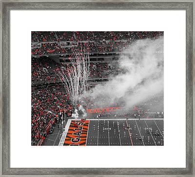 Cincinnati Bengals Playoff Bound Framed Print