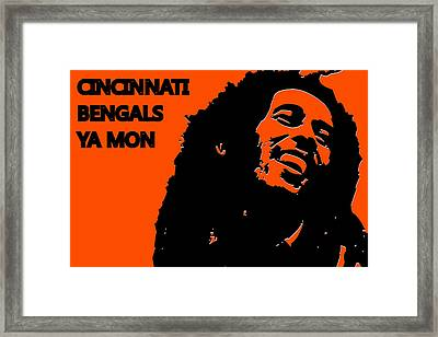 Cincinnati Bengals Ya Mon Framed Print