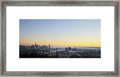 Cincinnati Dawn 2 Framed Print