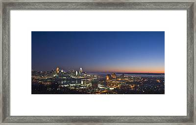 Cincinnati Dawn Framed Print