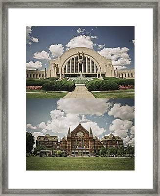 Cincinnati Icons Framed Print