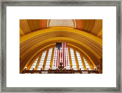 Cincinnati Museum Center Interior Photo Framed Print