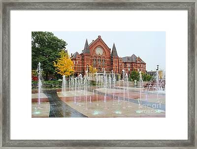 Cincinnati Music Hall 0001 Framed Print
