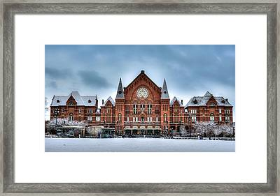 Cincinnati Music Hall Framed Print