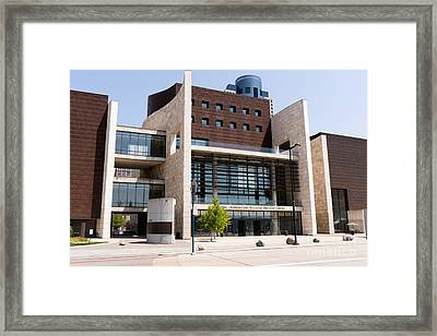 Cincinnati National Underground Railroad Freedom Center Framed Print by Paul Velgos