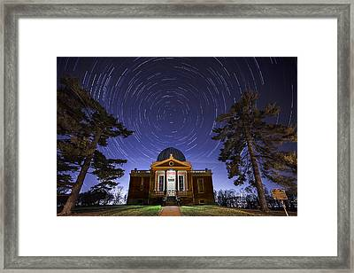 Cincinnati Observatory Framed Print by Keith Allen