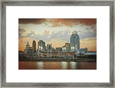 Cincinnati Ohio Vii Framed Print