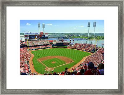 Cincinnati Reds Stadium Framed Print