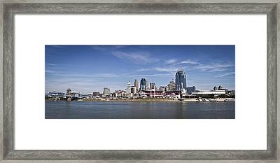 Cincinnati Framed Print
