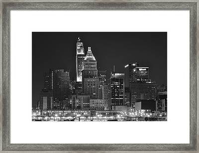 Cincinnati Up Close Framed Print by Frozen in Time Fine Art Photography