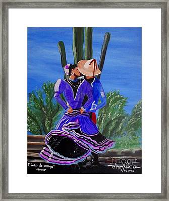 Cinco D Mayo Framed Print