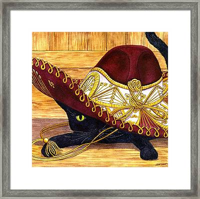 Cinco De Mayo Framed Print by Catherine G McElroy