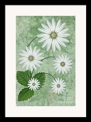Seasons Digital Art Framed Prints