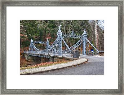 Cinderella Bridge Framed Print by Guy Whiteley