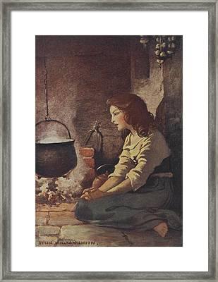 Cinderella Framed Print by British Library