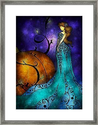 Cinderella Framed Print by Mandie Manzano
