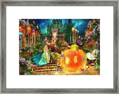 Cinderella Variant 1 Framed Print by Aimee Stewart