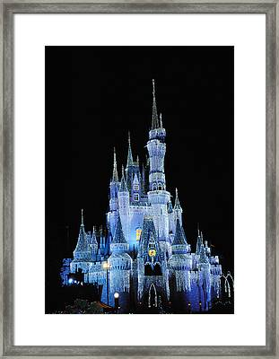 Cinderella's Castle Framed Print by Robert  Moss