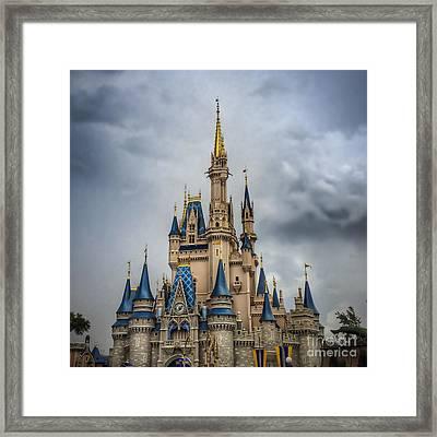 Cinderellas Castle Framed Print
