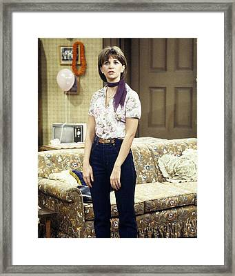 Cindy Williams In Laverne & Shirley  Framed Print by Silver Screen