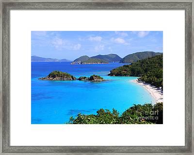 Cinnamon Bay St. John Virgin Islands Framed Print