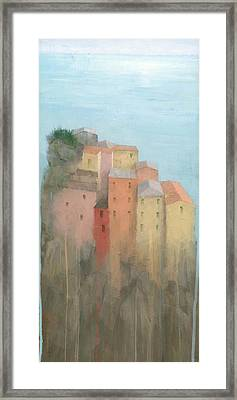Cinque Terre Framed Print by Steve Mitchell