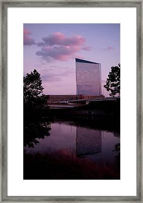 Cira Centre Framed Print by Rona Black