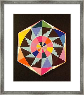 Circle Dance Framed Print by Hang Ho