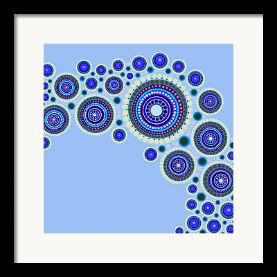 Optical Art Framed Prints