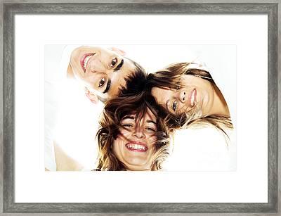 Circle Of Best Friends Framed Print by Michal Bednarek