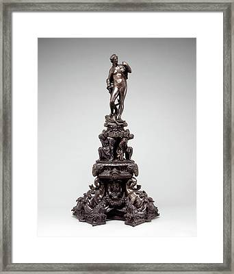 Circle Of Girolamo Campagna, Andiron With Figure Of Venus Framed Print