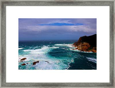 Circle Of Light Framed Print by Chris Whittle