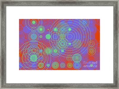 Framed Print featuring the digital art Circle Of Love  II by Ilona Svetluska