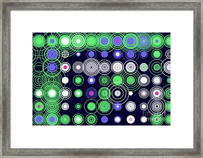 Framed Print featuring the digital art Circle Of Love Iv by Ilona Svetluska