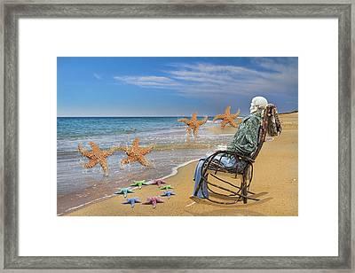 Circle Of Trust Framed Print by Betsy Knapp