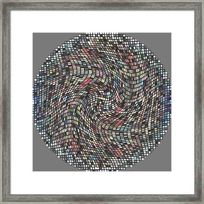 Circle Series 2 Framed Print by George Curington