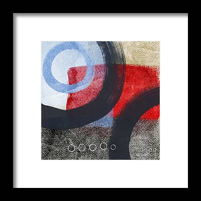Geometric Abstract Framed Prints