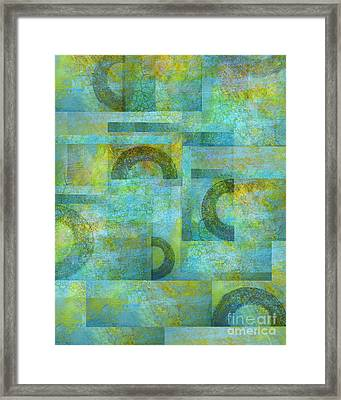 Circles And Squares Framed Print