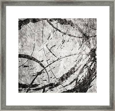 Circles Framed Print by Brett Pfister