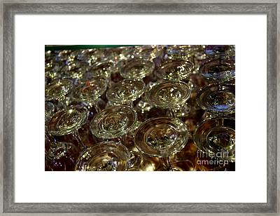 Circles Of Delight Framed Print